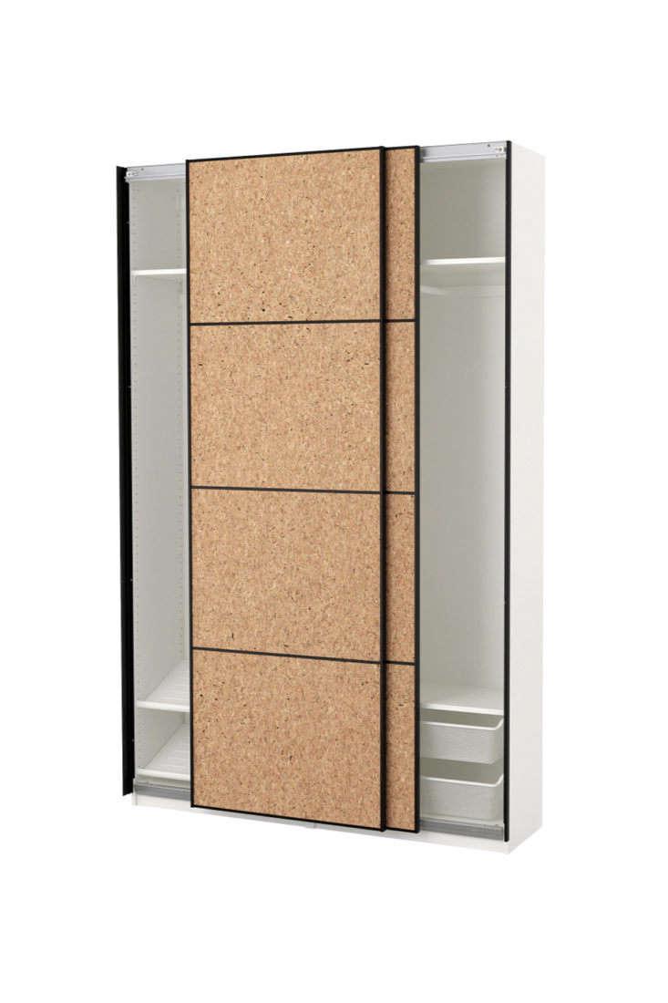 Pax Wardrobe with Sliding Open Kirkenes Doors