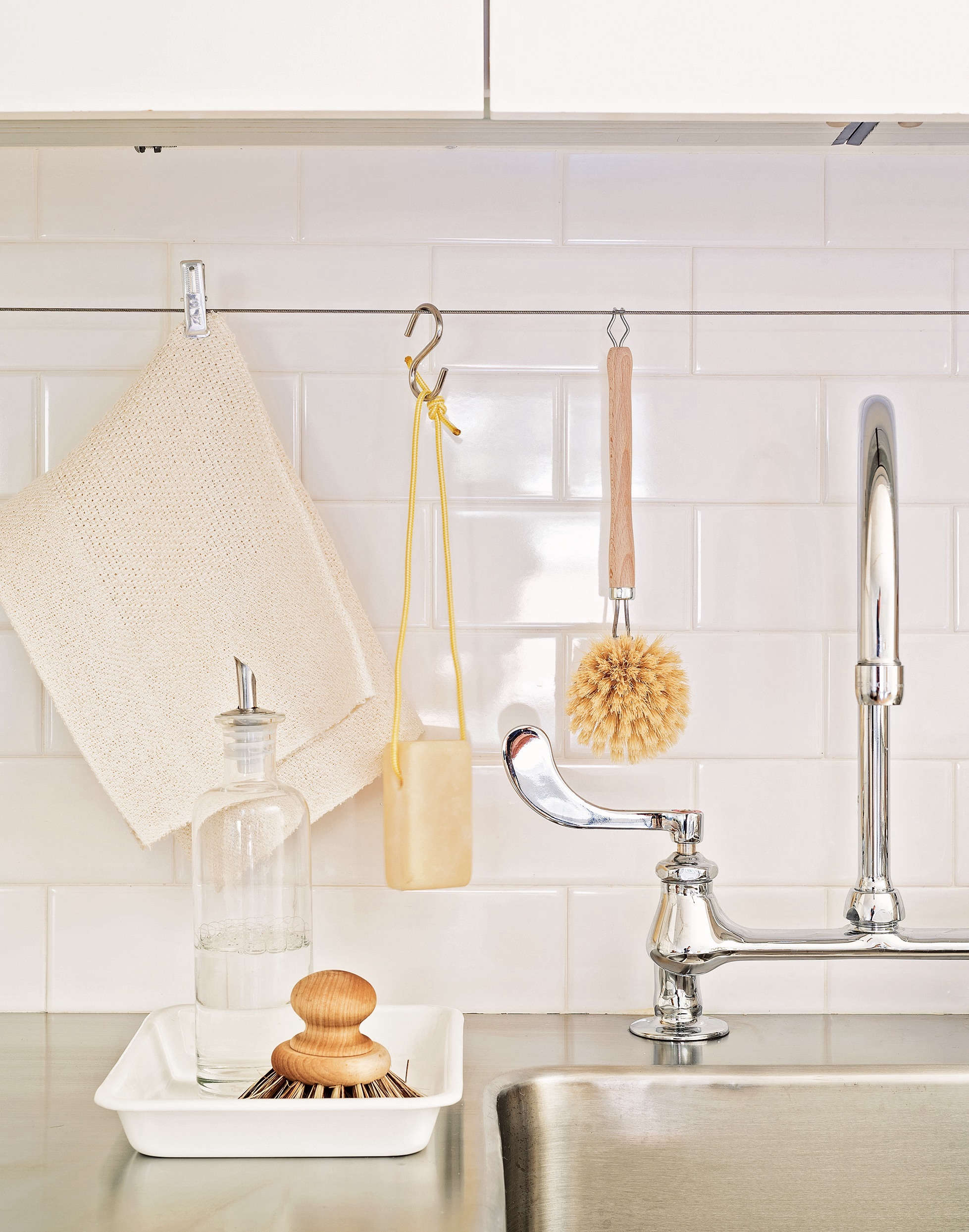 5 Space Saving Ideas To Steal From A Brooklyn Kitchen Ikea Hack Included