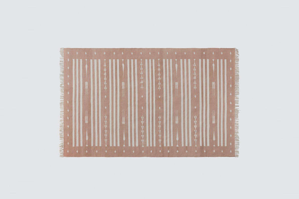 Vayu Dhurrie Rug from The Citizenry