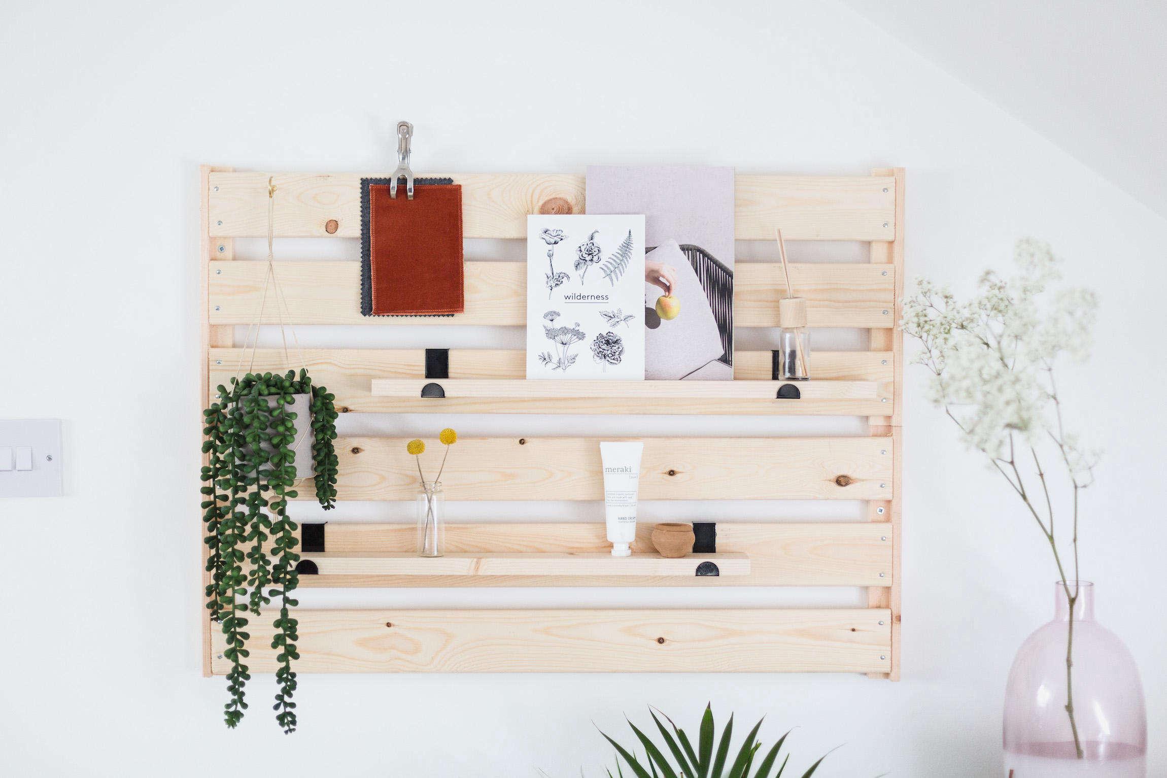 Diy Ikea Hack A Genius Wall Mounted Wooden Organizer