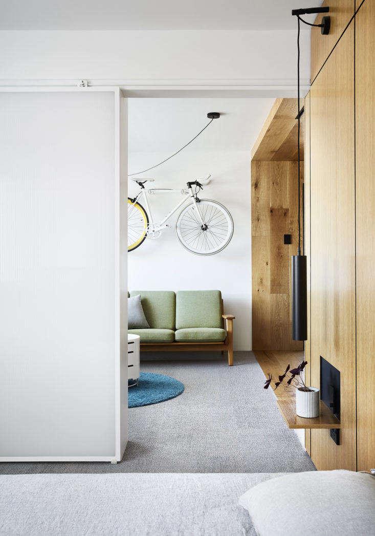 Tsai Design Type St. Apartment in Melbourne Bedroom Door
