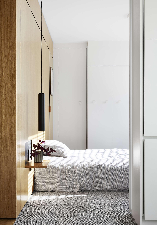 Tsai Design Type St. Apartment in Melbourne Bedroom