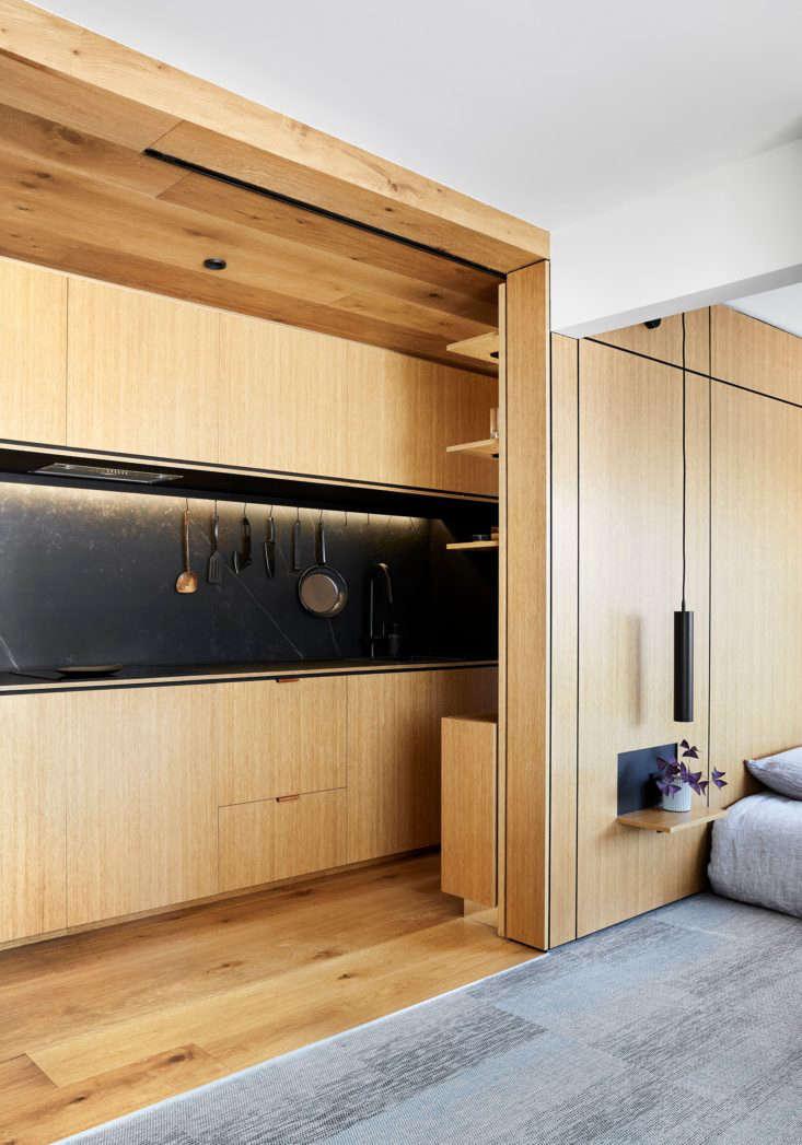 Tsai Design Type St. Apartment in Melbourne Kitchen