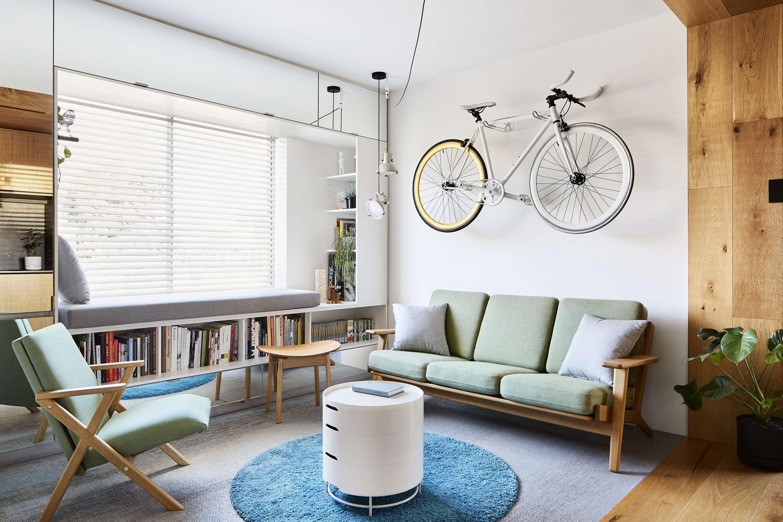 Tsai Design Type St. Apartment in Melbourne Living Room