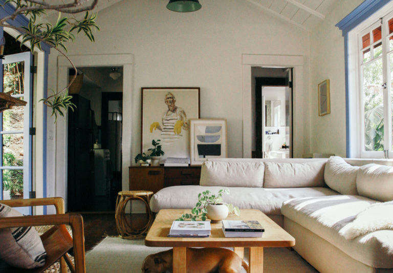 Jodi Balfour LA Bungalow Living Room