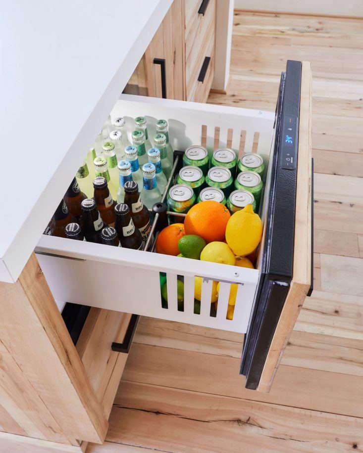 Emily Henderson Mountain House Kitchen Beverages Refrigerator Drawer