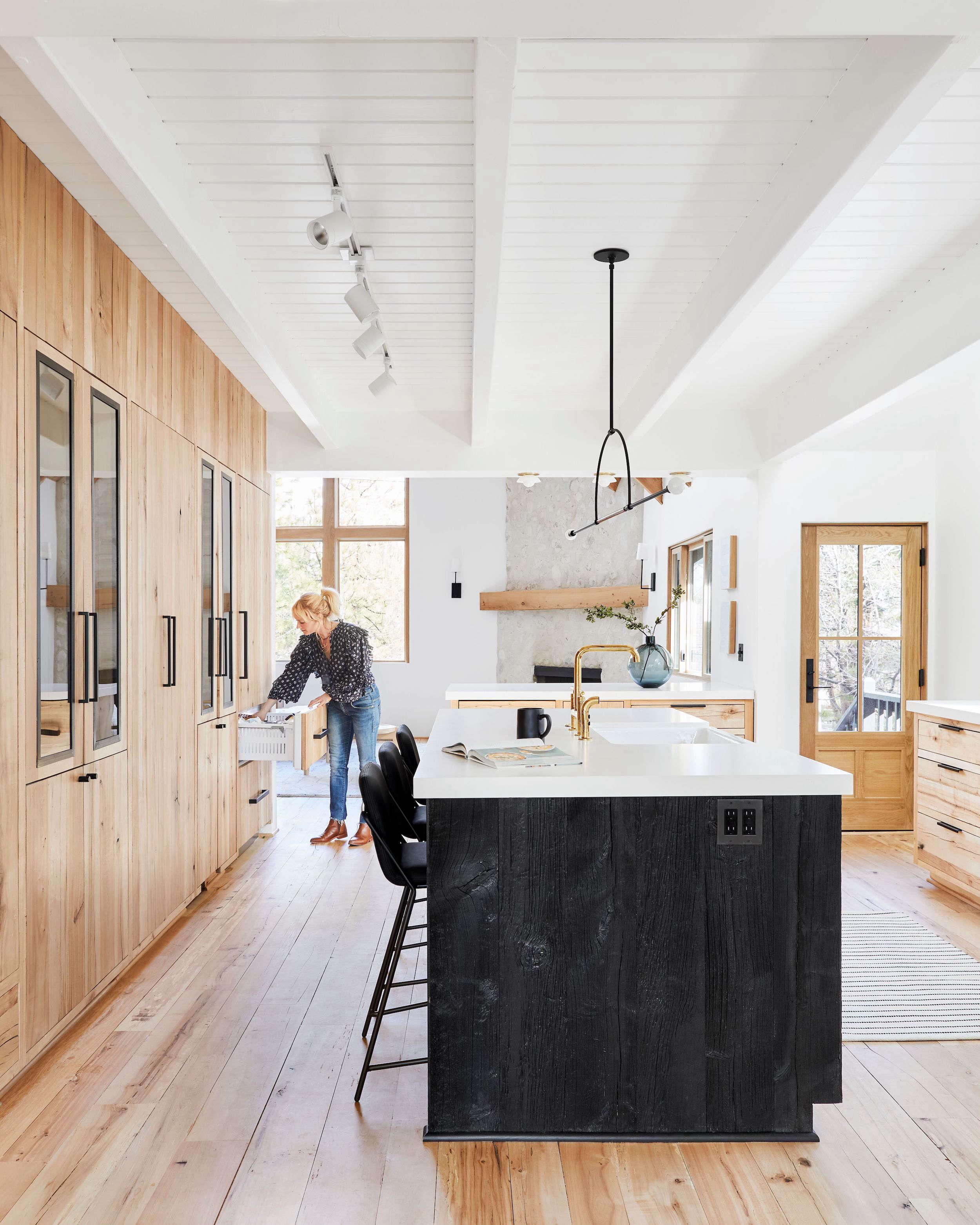 Emily Henderson Mountain House Kitchen
