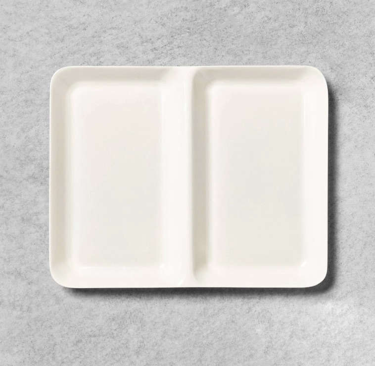 Hearth & Hand Target Metal Tray in Sour Cream