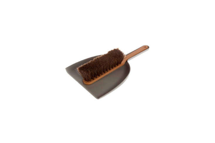 Iris Hantverk Dustpan and Brush Set Grey