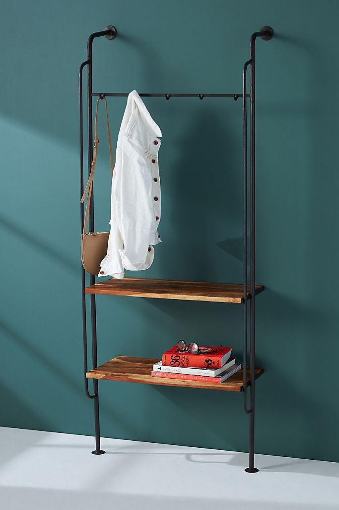 Wall Mounted Entryway Coat Rack at Anthropologie