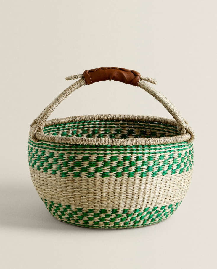 Basket with Handle Zara Home