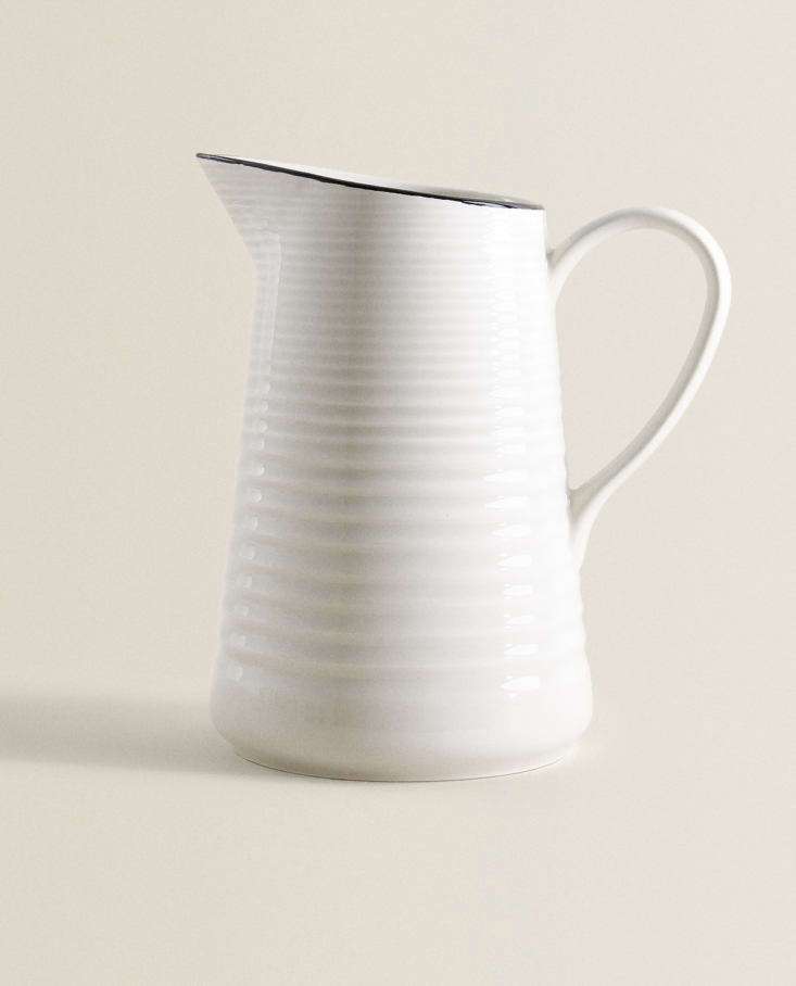 Earthenware Pitcher at Zara Home