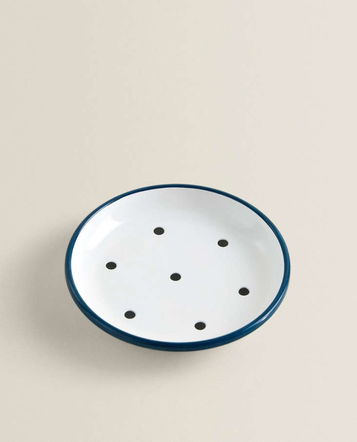 Enameled Soap Dish at Zara Home