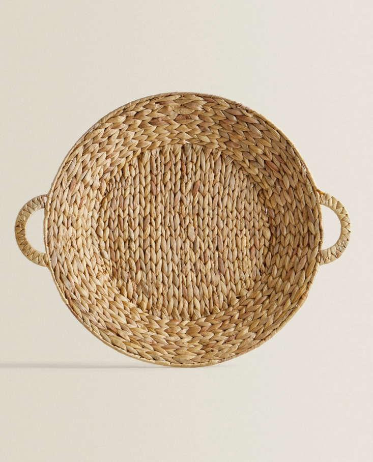 Round Basket with Handles at Zara Home
