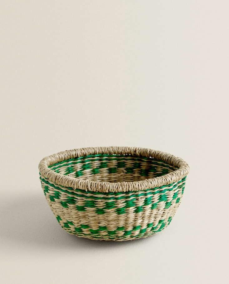 Woven Basket Zara Home