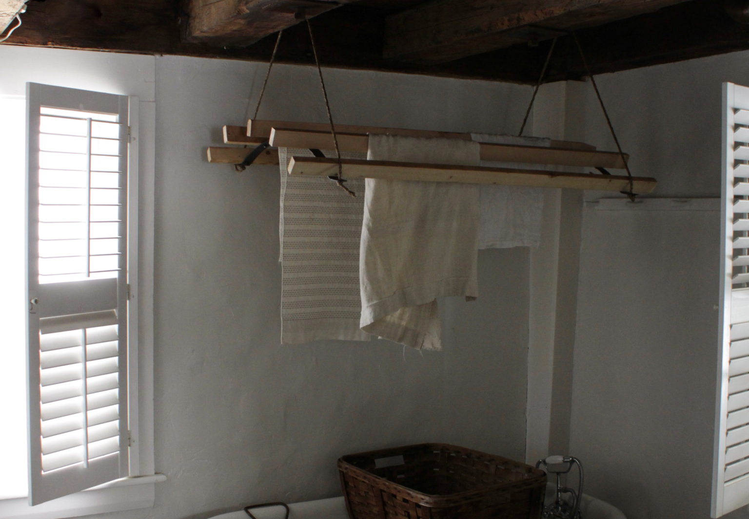 Bess Piergrossi Completed Laundry Rack Cropped Cover Image