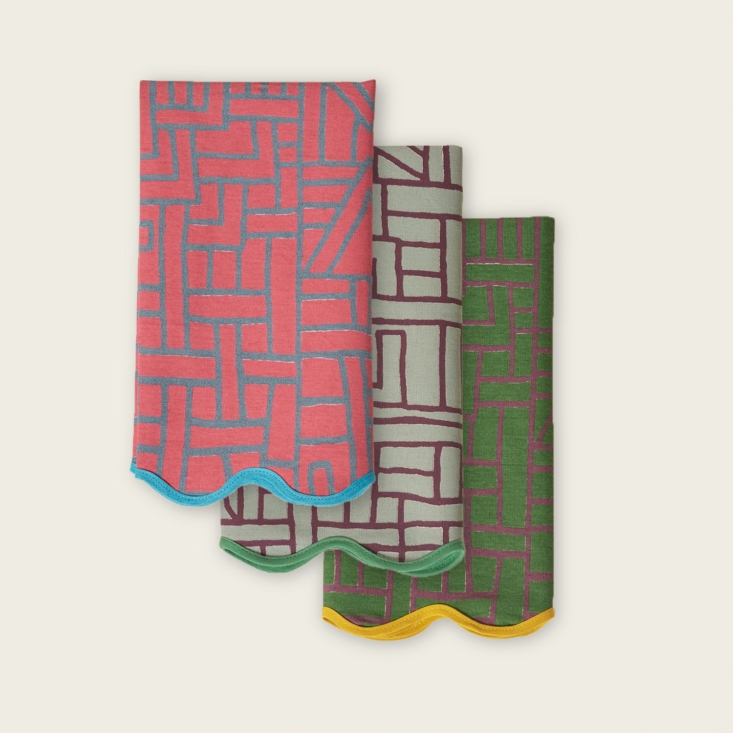 Congolese Napkins by Siafu Home from Goodee