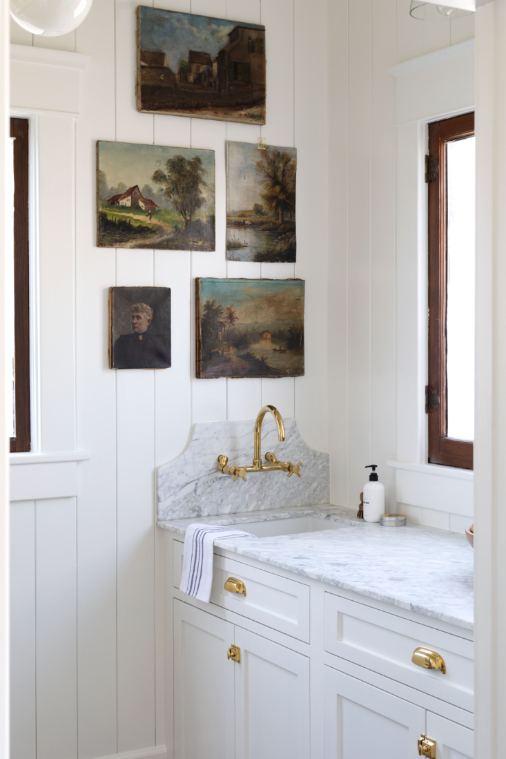 Butlers Pantry in Farmhouse Kitchen by The Grit and Polish