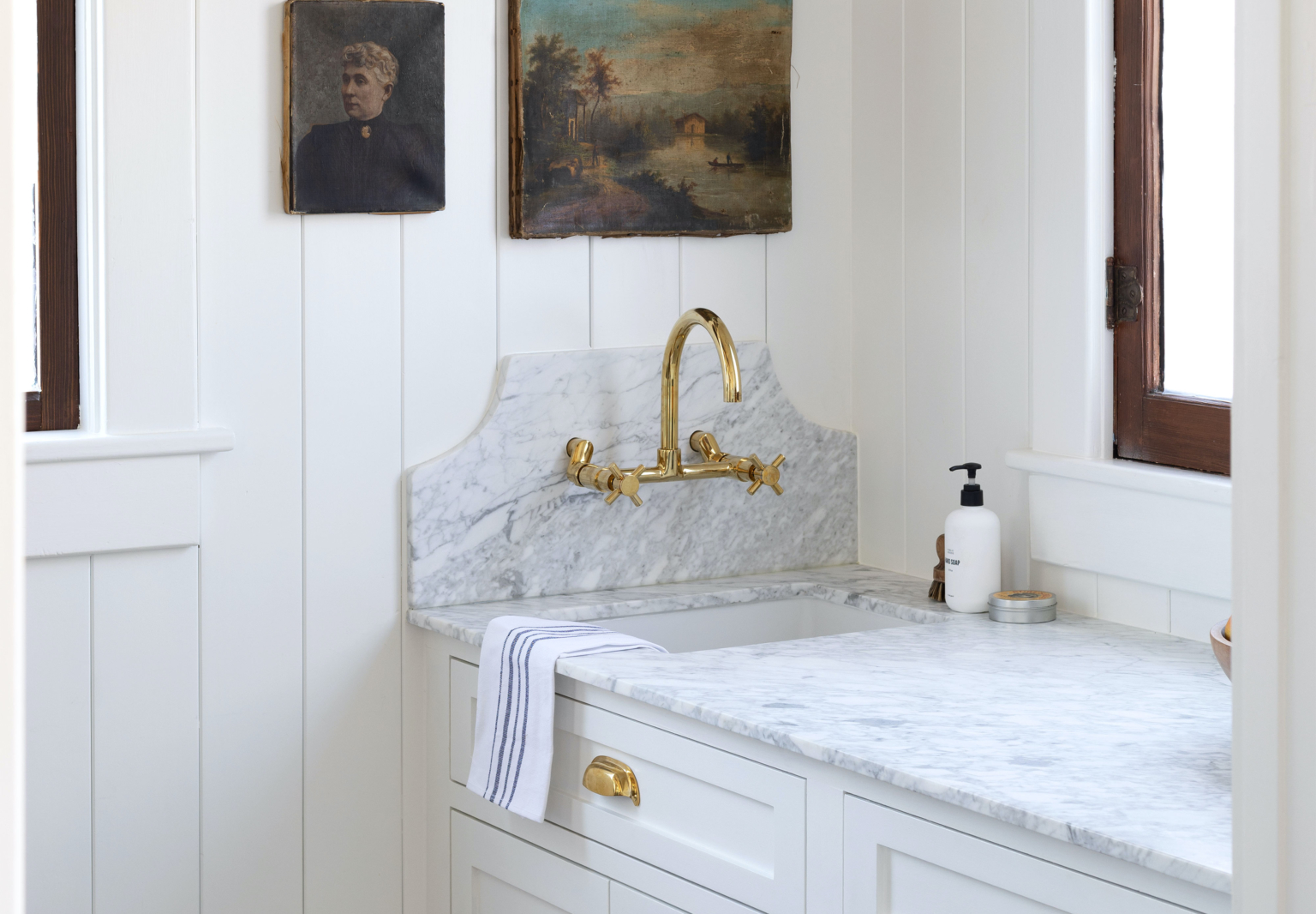 Butlers Pantry in Farmhouse Kitchen by The Grit and Polish Crop Cover Image