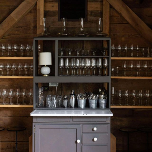 Unfinished walls can be an opportunity to get creative with shelving. We find these studs-as-storage moments—sometimes casually ad-hoc, other times intentional and fully designed—to be wholly charming.the framing of a room. Click the link in our bio to see 11 times where instead of being concealed behind sheetrock, structural studs are cleverly used for built-in storage and allowed to shine.  Photograph by Greta Rybus for Remodelista.